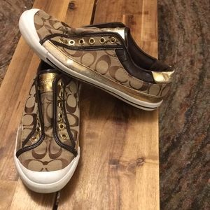 Coach Felix slip on sneakers size 8